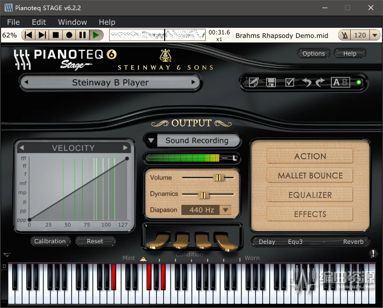 Pianoteq 6 STAGE – 成熟科技
