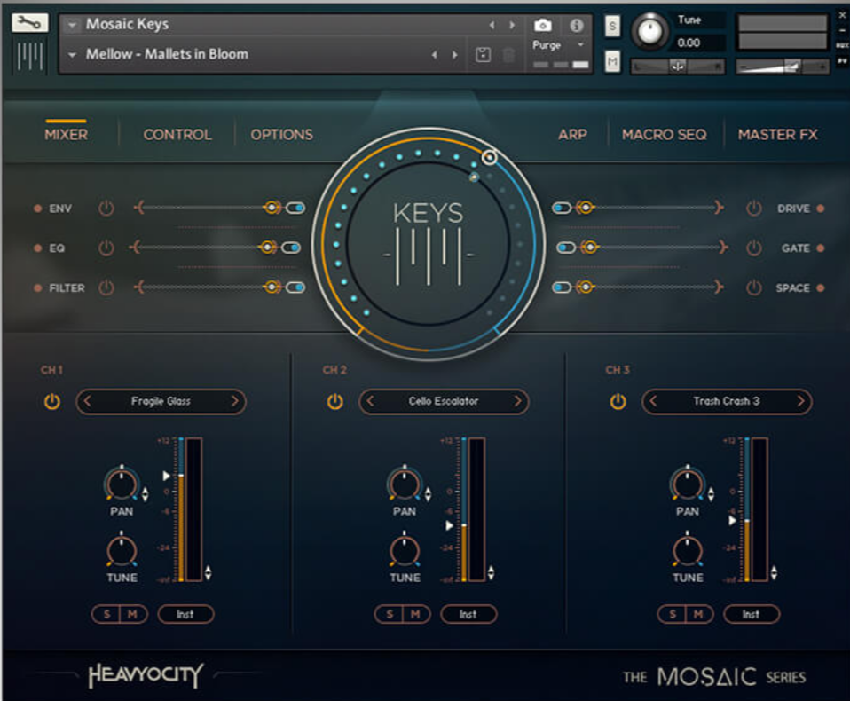 Heavyocity – Mosaic Keys