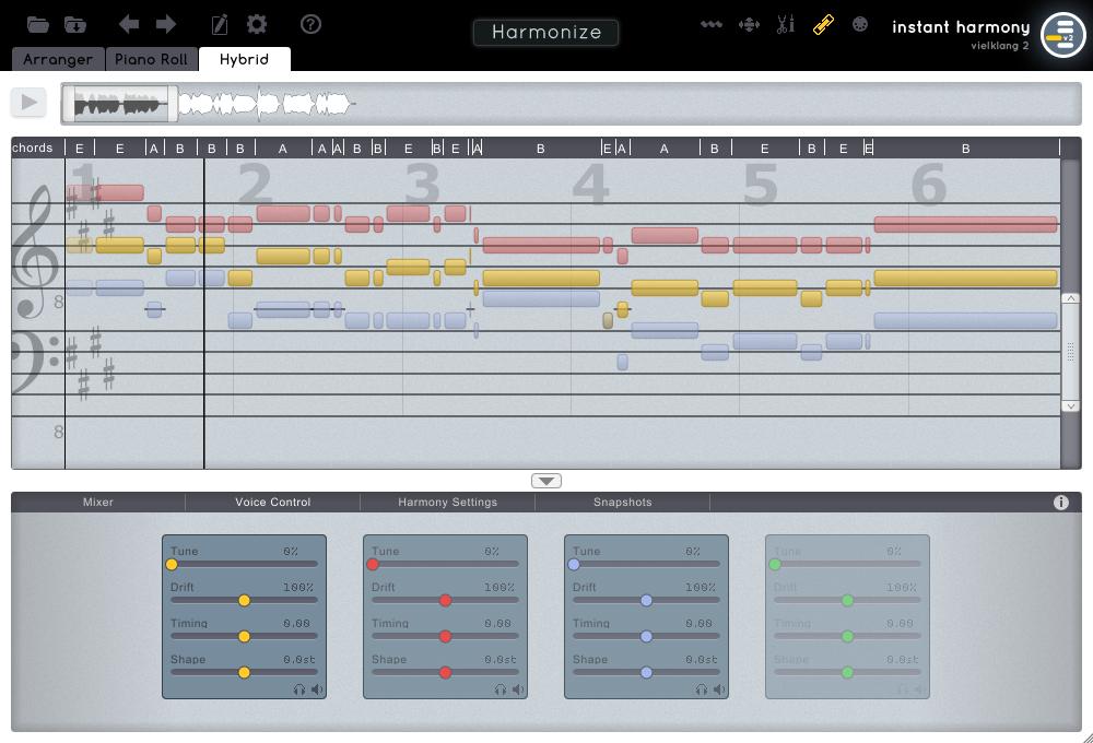 Zplane Vielklang Instant Harmon v2.4.2 – 自动和声工具
