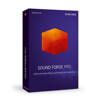 母带宿主 – MAGIX SOUND FORGE Pro 13.0.0.131 WIN