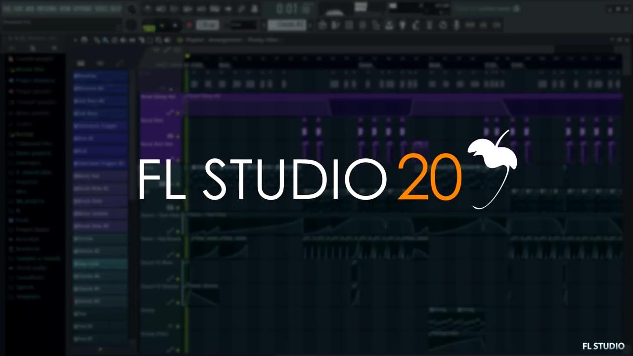 FL studio 20 中文快速上手操作教程