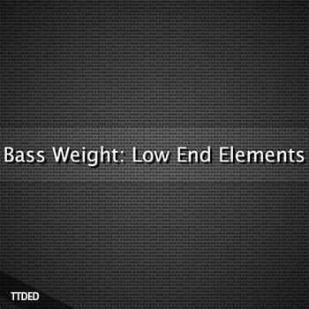 Glitchedtones Bass Weight Low End Elements [WAV]