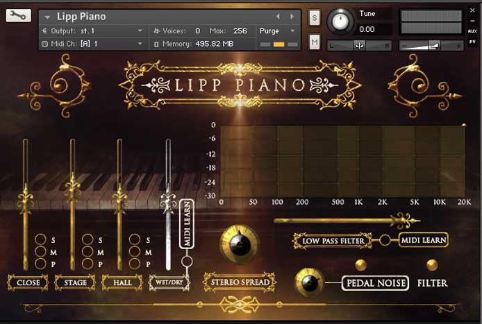 LIPP钢琴 – Strezov Sampling LIPP Piano v1.1 KONTAKT