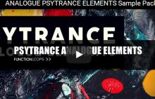 Function Loops Analogue Psytrance Elements WAV-DISCOVER