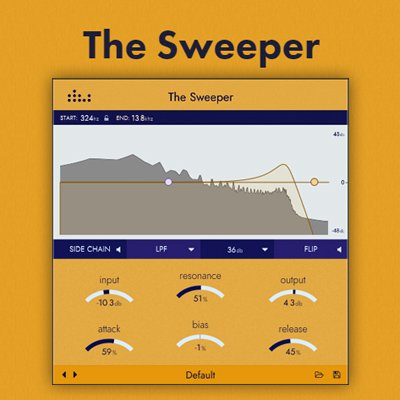 EQ均衡器 – Denise Audio The Sweeper 1.0.0