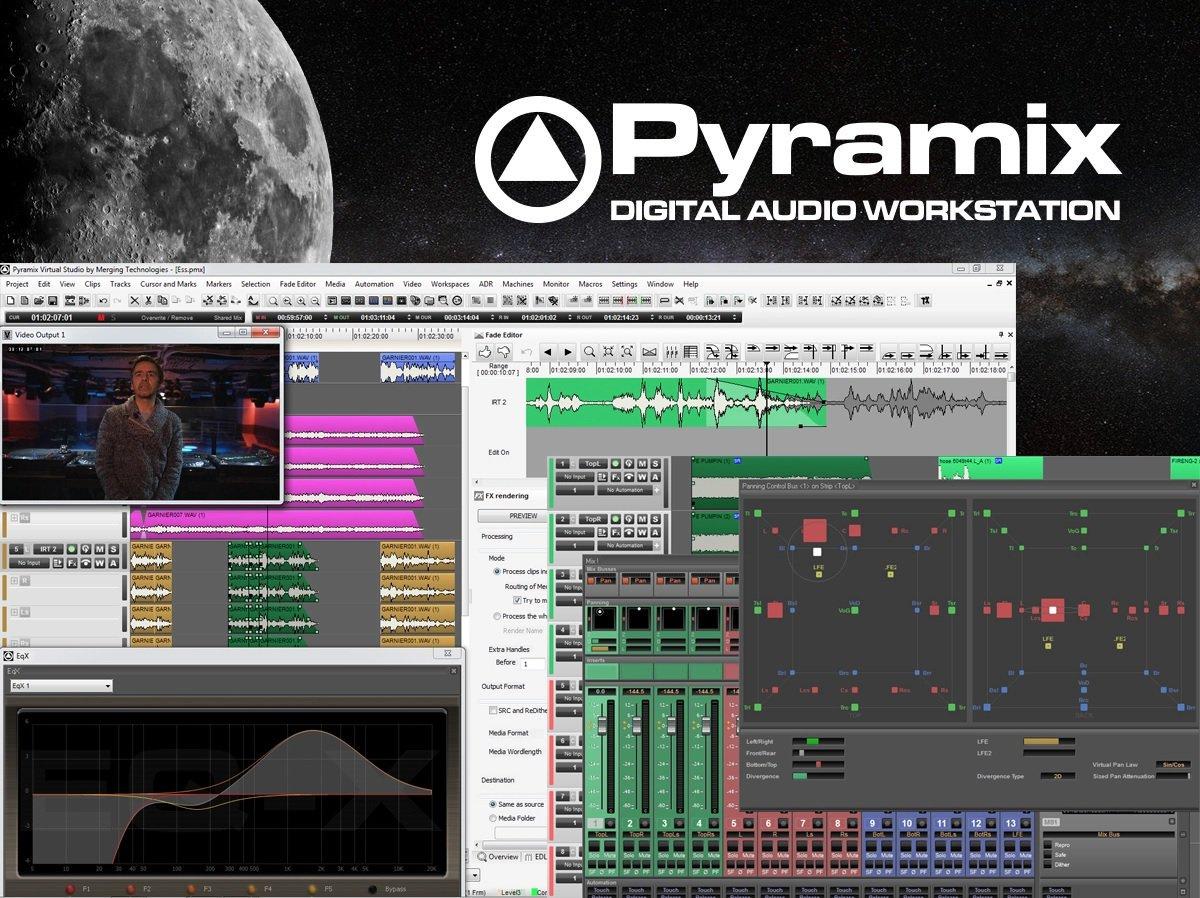 全球最好音质 – 支持DSD编码的宿主软件 – Merging Pyramix 12.0.4