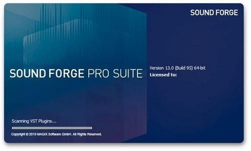 母带宿主软件 – MAGIX SOUND FORGE Pro Suite 13.0.0.100