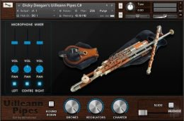 爱尔兰风笛 – Xtant Audio Uilleann Pipes for Kontakt