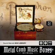 金属梳状音乐盒素材 – Tovusound Metal Comb Music Boxes WAV