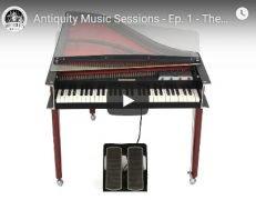 巴洛克复兴电钢琴 – Antiquity Music Electric Harpsichord KONTAKT