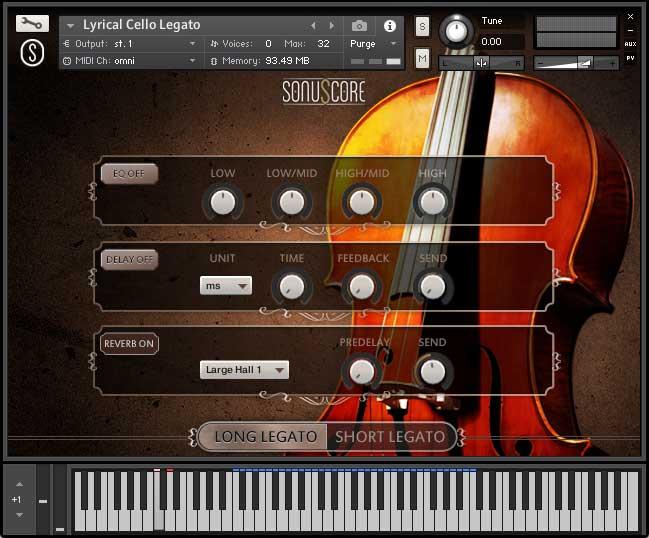 抒情大提琴 – Sonuscore Lyrical Cello Phrases