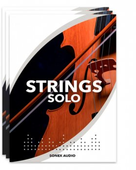 弦乐独奏 – Sonex Audio Strings Solo KONTAKT