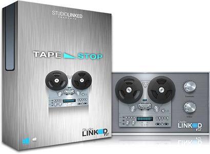 磁带声音插件 – StudioLinked Tape Stop v1.0.0 MacOSX