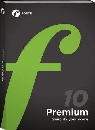 打谱软件 – Forte Notation FORTE 10 Premium 10.2.0