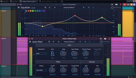 现代音乐制作软件 – Tracktion Software Waveform 10.3.1 x64