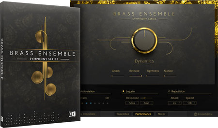 极品铜管群奏 – Native Instruments Symphony Series Brass Ensemble KONTAKT