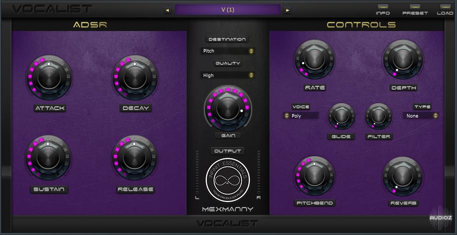 人声合成器 – Infinit Essentials Vocalist v1.0 RETAiL WiN/OSX-DECiBEL