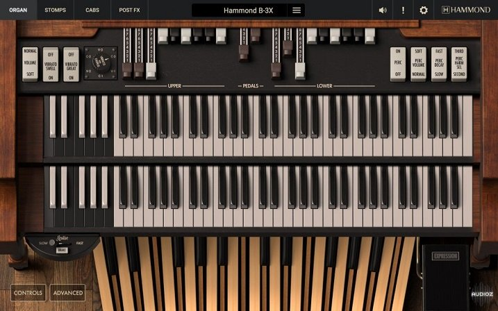 超逼真的风琴 – IK Multimedia Hammond B-3X v1.0.0 Incl Keygen WIN/OSX-R2R
