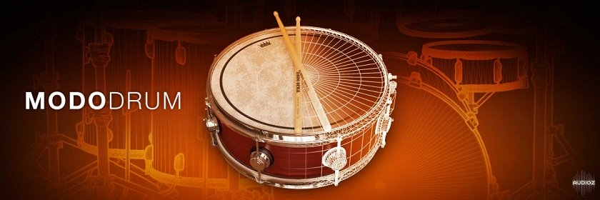 物理建模鼓 – IK Multimedia MODO DRUM v1.0.0  WIN