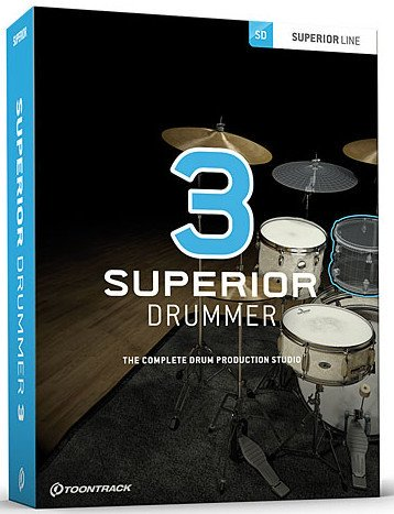 超级鼓手v3.1.6 – ToonTrack.Superior.Drummer.v3.1.6.CE-VR WIN