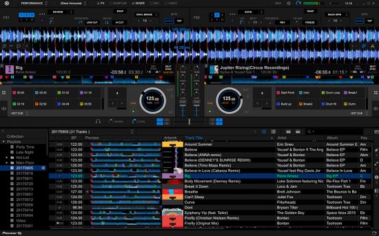 专业的DJ宿主 – Pioneer DJ rekordbox Premium v5.7.0