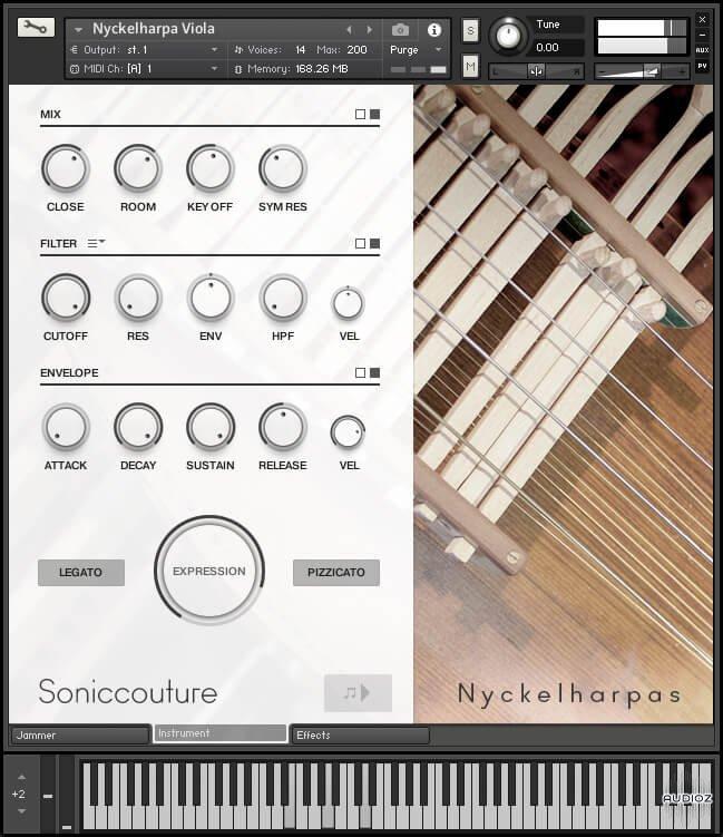 传统瑞典乐器 – Soniccouture Nyckelharpas v1.0.0 KONTAKT-SYNTHiC4TE