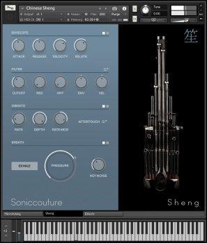 民族乐器 笙 – Soniccouture Sheng Khaen Sho v1.0.0 KONTAKT-DECiBEL