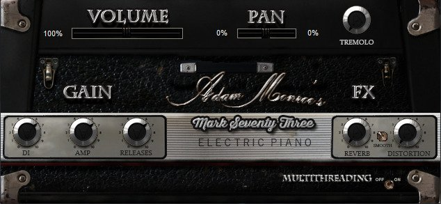 经典电钢琴 – Adam Monroe Music Mark 73 Electric Piano v1.4 (AAX AU VST) WIN/OSX-DECiBEL