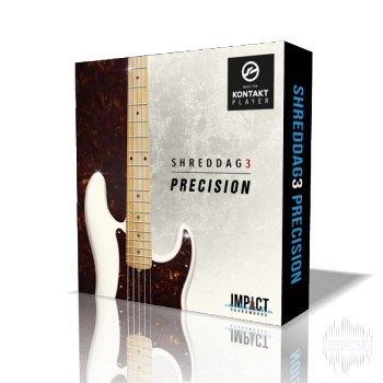最经典的电贝司 – Impact Soundworks Shreddage 3 Precision KONTAKT-DECiBEL