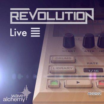 电子鼓机 – Wave Alchemy Revolution Live Pack for Ableton Live-DECiBEL