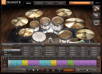 老牌原声鼓 – Toontrack EZdrummer v2.1.8 PC/v2.16 MAC