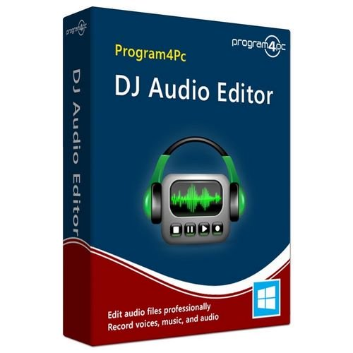 DJ音频编辑器 – Program4Pc DJ Audio Editor 7.8 Multilingual WIN