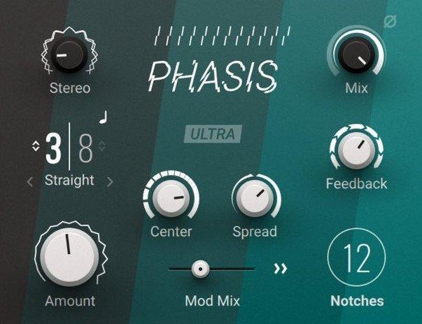 相位效果器 – Native Instruments Phasis 1.0.1 x64