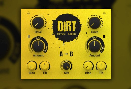 失真效果器 – Native Instruments Dirt 1.0.1 x64