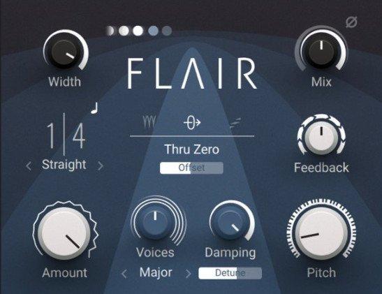 经典镶边效果器 – Native Instruments Flair 1.0.1 x64