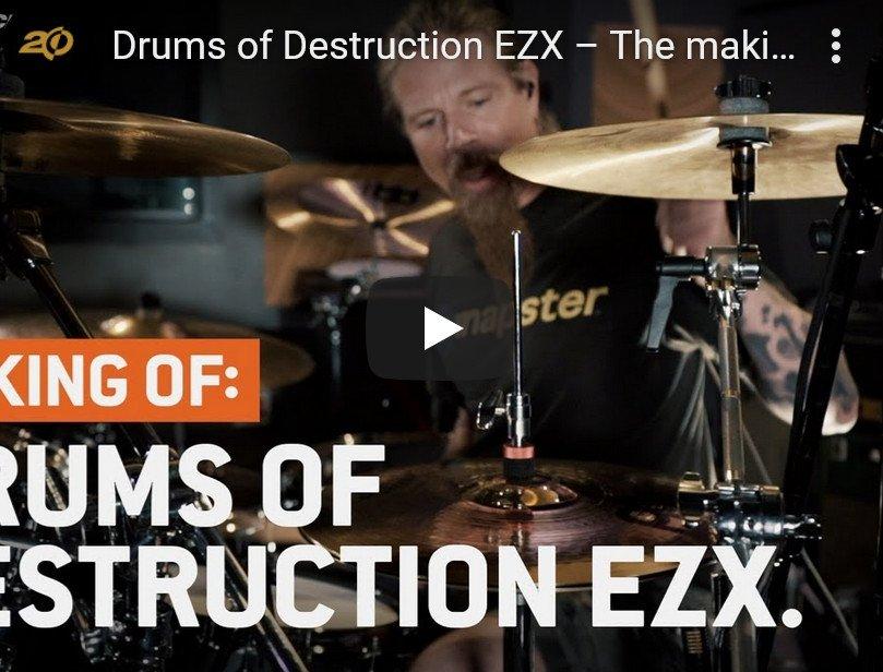 EZX鼓音色 – Toontrack Drums of Destruction EZX v1.0.0
