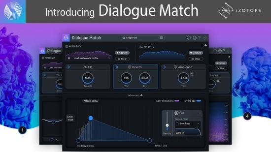 混音效果器 – iZotope Dialogue Match v1.0.0 MacOS
