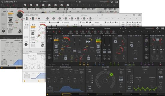 新旗舰合成器 – Native Instruments Massive X v1.1.0 MacOS