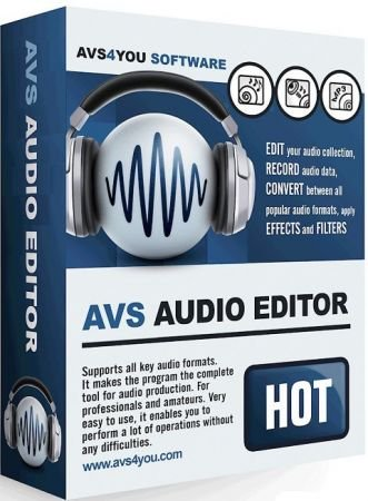 全功能数码音频编辑工具 – AVS Audio Editor 9.1.2.540 WIN