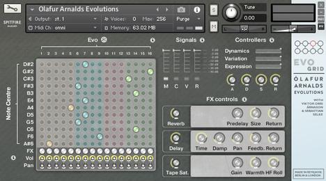 喷火管弦 – Spitfire Audio Olafur Arnalds Evolutions KONTAKT