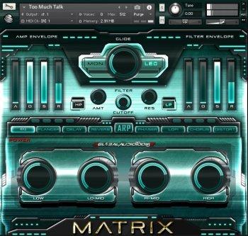 综合音色合成器 – Global Audio Tools MATRIX KONTAKT