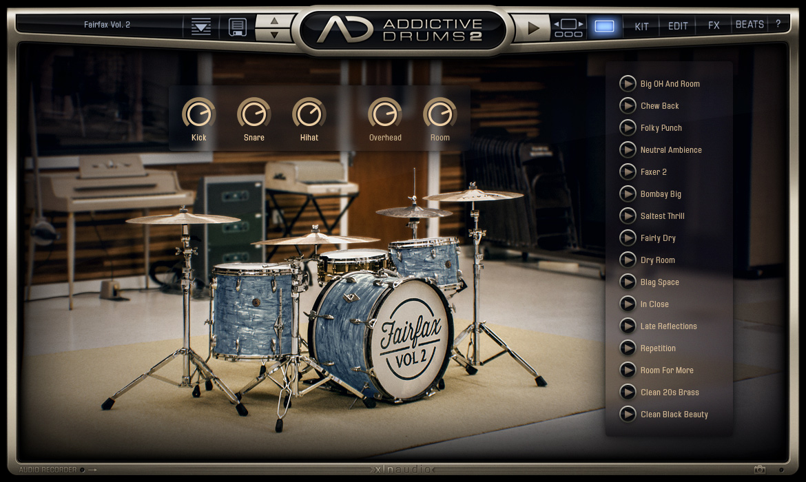 经典鼓音源 – XLN Audio Addictive Drums 2 Complete v2.1.9 WIN/MAC