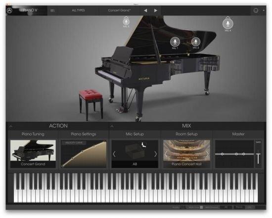 钢琴V – Arturia Piano V2 v2.5.0.3410 MacOS