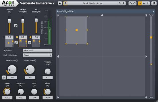 算法混响插件 – Acon Digital Verberate Immersive 2.1.1 WIN