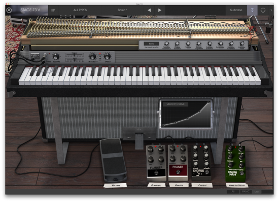 电子钢琴 – Arturia Stage-73 V v1.5.0.3410 MacOS