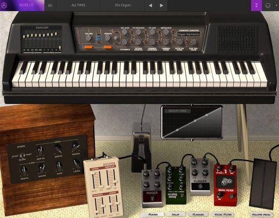 经典电子钢琴 – Arturia Wurli V2 v2.5.0.3410 MacOS