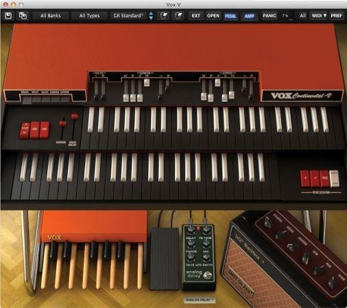 经典管风琴 – Arturia Vox Continental V2 v2.5.0.3410 MacOS