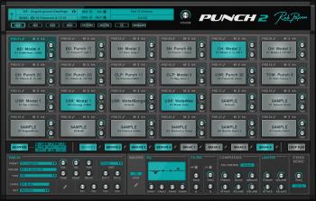 独特的鼓机 – Rob Papen Punch2 v1.0.1a Incl Cracked and Keygen-R2R WIN