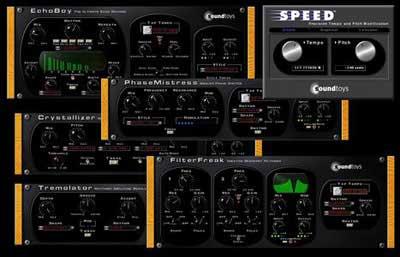 效果器套装 – SoundToys Native Effects v4.1.8 PC/4.1.1MAC