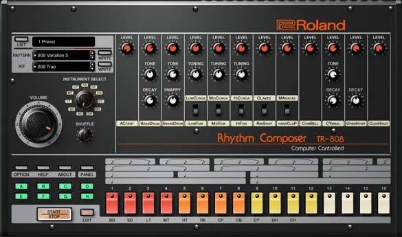 罗兰808鼓机 – Roland VS TR-808 1.0.6 WIN